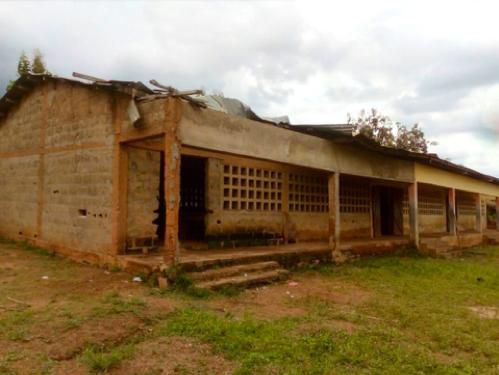 école à rénover Humanille